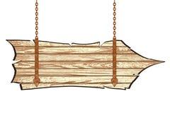 木板 皇族释放例证