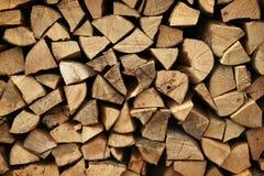 木柴堆 库存图片