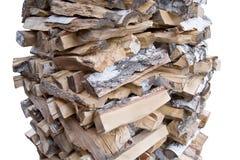 木柴熔炉升火 库存照片