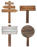 木标志 免版税库存照片