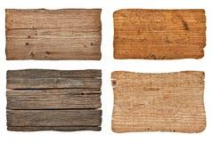 木标志 免版税图库摄影