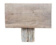 木标志 免版税库存图片