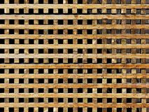 木格子墙壁 免版税库存图片