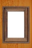 木框架的葡萄酒 免版税库存照片