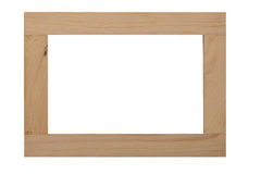 木框架 免版税图库摄影