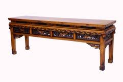 木桌中国式 库存照片