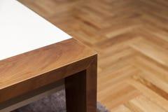 木桌细节  库存照片
