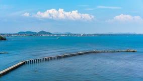 木桥时间间隔向罗勇的,泰国海 影视素材