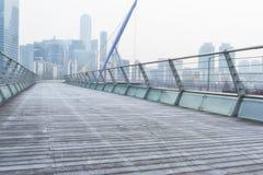 木桥梁 免版税库存图片