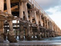 木桥梁 免版税图库摄影