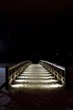木桥 免版税图库摄影