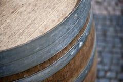 木桶的啤酒 库存图片