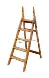 木梯子 图库摄影