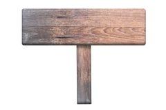 木棕色的牌 图库摄影