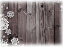 木棕色的纹理 神奇圣诞夜 冬天 黑暗 免版税库存图片