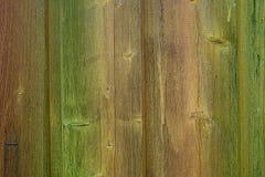 木棕色结构绿色老年迈的纹理 免版税库存图片