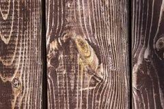 木棕色背景纹理老困厄的木头 库存照片