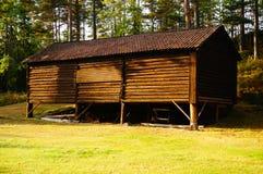 木棚子泰勒马克郡,挪威 免版税图库摄影