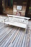木椅子设计史诗泰国 图库摄影