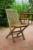 木椅子 库存图片