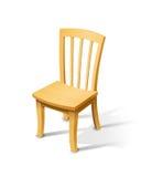 木椅子 库存例证