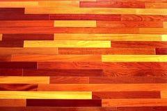 木楼层的纹理 免版税图库摄影