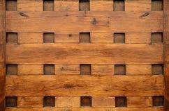 木正方形背景 库存照片