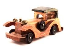 木汽车的玩具 免版税库存图片