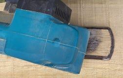 木沙磨机工具 免版税图库摄影