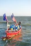 木渔船 免版税库存图片