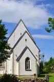 木湖教会,萨列马岛,爱沙尼亚 库存图片