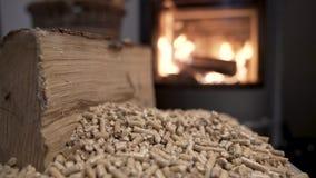 木火炉经济暖气录影镜头4K 影视素材