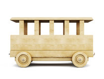 木火车 3d 向量例证