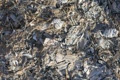 木灰,从被烧的木柴的灰背景  免版税库存图片