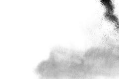木炭微粒  库存图片