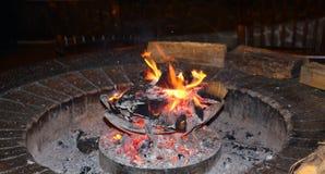 木炭火炉 免版税图库摄影