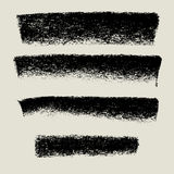 木炭纹理背景横幅,难看的东西背景 免版税库存照片