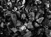 木炭表面 免版税库存照片