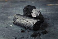 木炭黑板背景 免版税库存图片