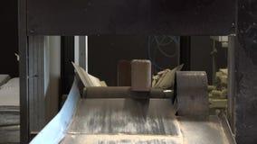 木燃料生物量冰砖 影视素材