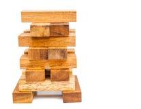 木玩具块 免版税库存照片