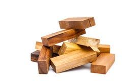 木玩具块 库存图片