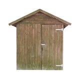 木生锈的棚子 图库摄影