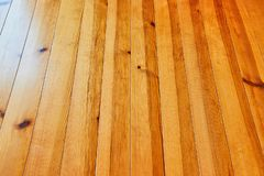 木甲板木材 库存图片
