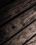 木甲板细节 免版税图库摄影