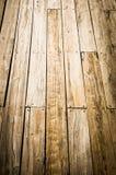 木甲板背景 免版税库存照片
