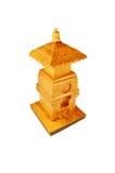 木的人工制品 免版税库存照片