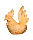 木的公鸡 免版税库存照片