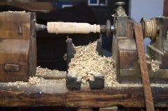 木的切割机 免版税图库摄影