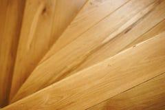 木的台阶 免版税库存照片